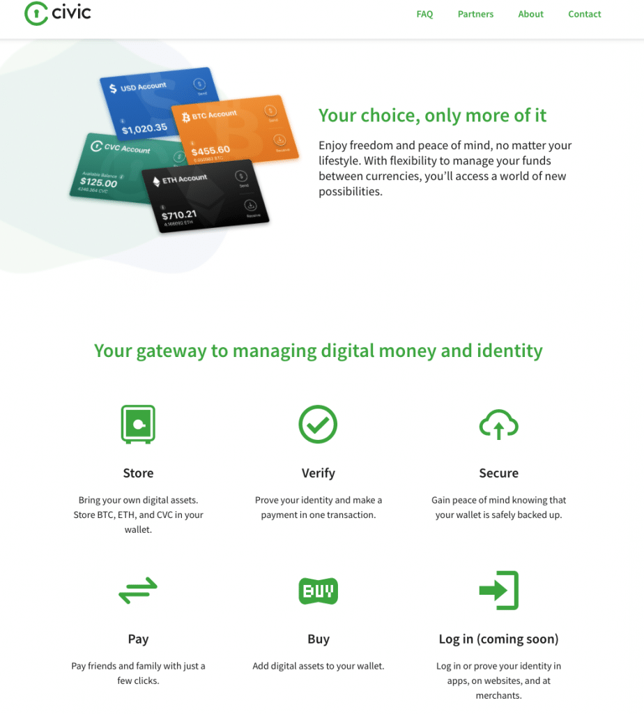 Civic wallet and identity verification protocol