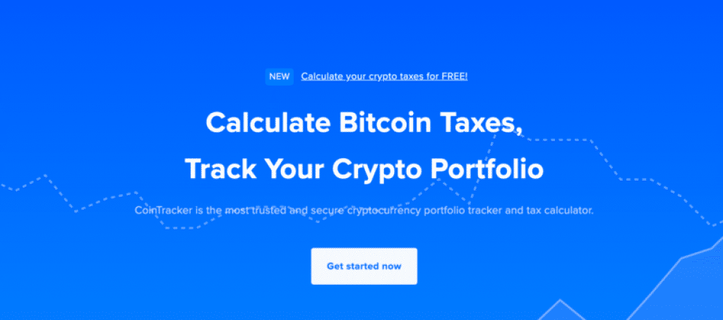 Cryptocurrency portfolio tool Cointracker