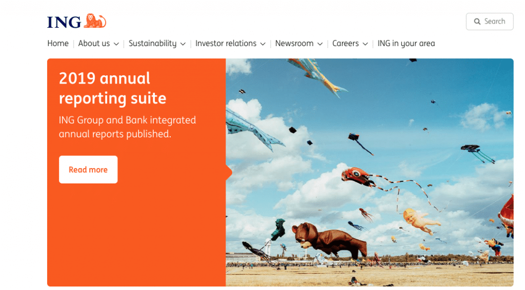 ING Dutch bank that are working on digital asset services