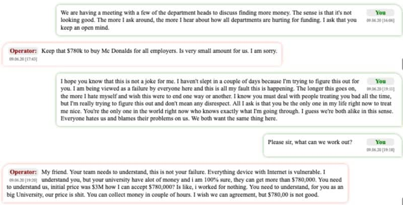 Negotiations Between The Operator And The UCSF Negotiator. Source: Bloomberg