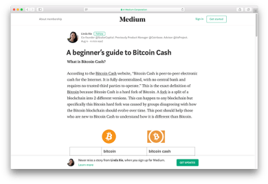 A beginners guide to bitcoin cash