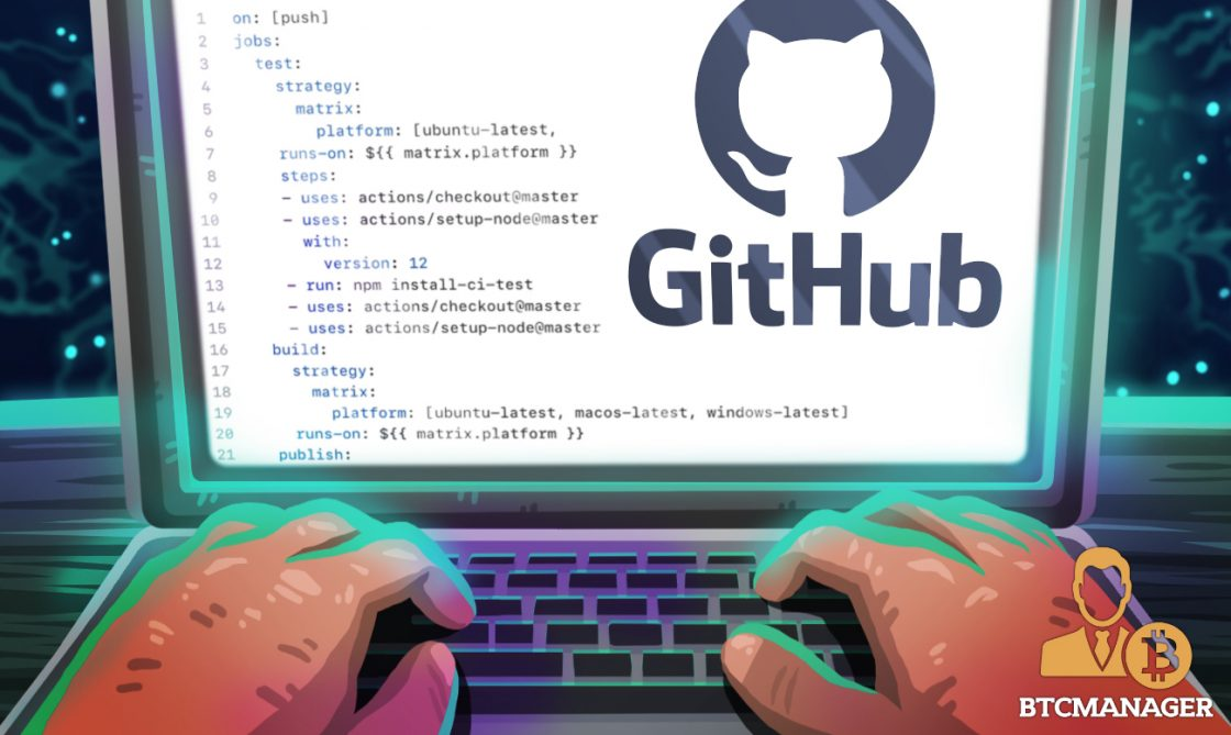 """GitHub Eases Crypto Coding, Adds the """"Copy"""" Button"""